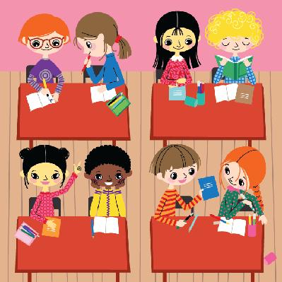 School Life | Clipart