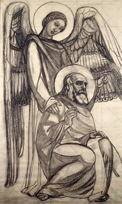 St. John and the Angel, 1925