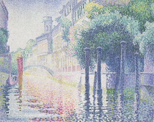 Rio San Trovaso, Venice, 1903-4