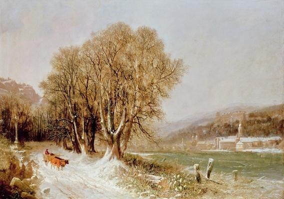 On the River Neckar, Heidelberg
