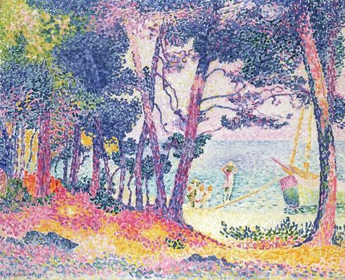 A Pine Grove, 1906