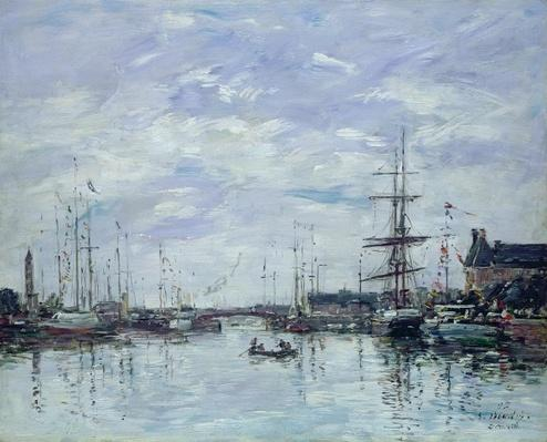 Deauville, the Dock, 1892