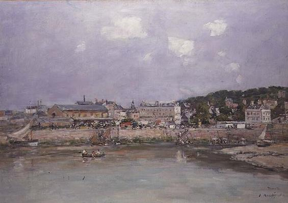 The Harbour at Trouville, 1884