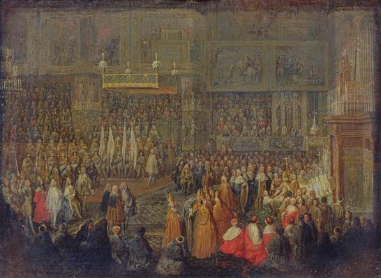 Coronation of Louis XV