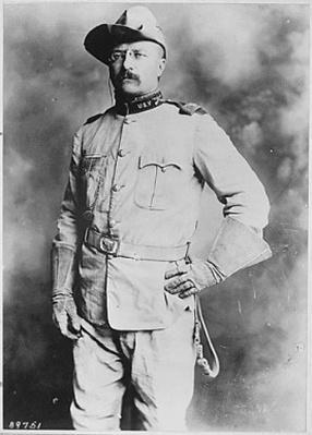 Colonel Theodore Roosevelt, 1st Cavalry, U.S.Volunteers