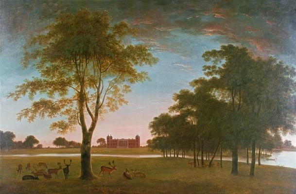Osterley House and Park at Evening