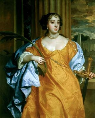 Barbara Villiers, Duchess of Cleveland as St. Catherine of Alexandria, c.1665-70