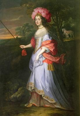 A Lady in Masquerade Costume, c.1679