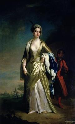 Lady Mary Wortley Montagu, c.1725