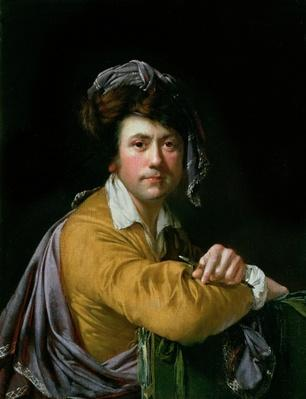 Self Portrait at the age of about Forty, c.1772-3