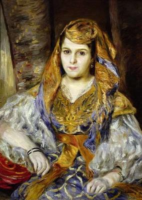 Mme. Clementine Stora in Algerian Dress, or Algerian Woman, 1870