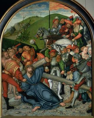 Christ Carrying the Cross, 1538