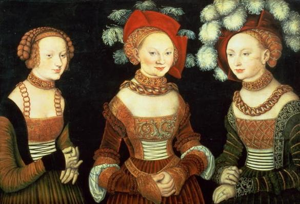 Three princesses of Saxony, Sibylla