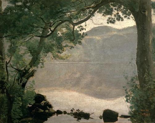 Lake Nemi, 1843