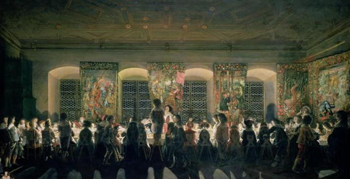 Banquet at Night, 1640