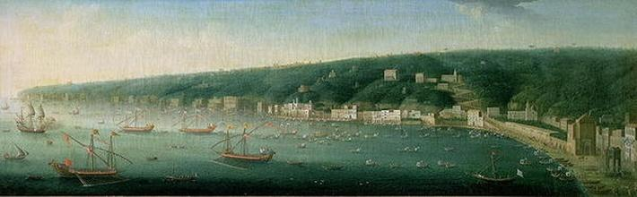 View of Naples from the east, 1730