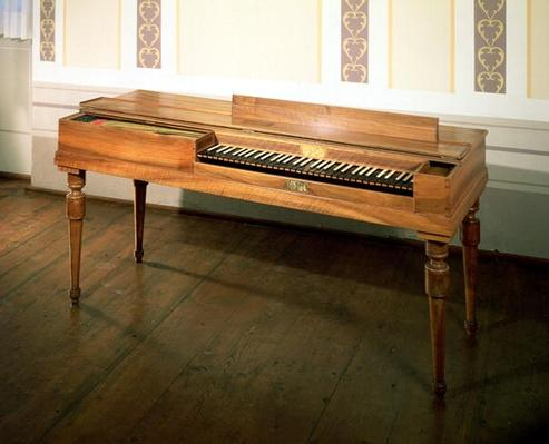 Clavichord, once owned by Franz Joseph Haydn