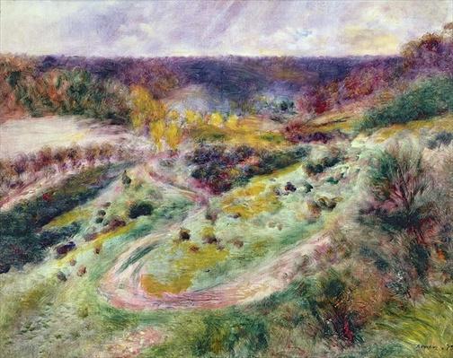 Landscape at Wargemont, 1879