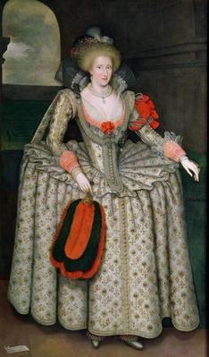 Anne of Denmark, c.1605-10