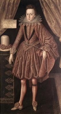 Charles I as Prince of Wales, c.1612-13