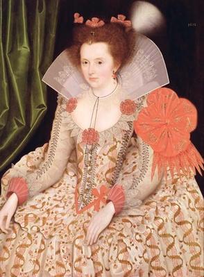 Princess Elizabeth, daughter of James I, 1612