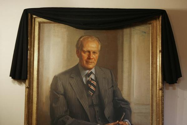 U.S. Mourns Passing Of Former President Gerald Ford | American Presidential Portraits