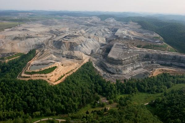 One of the Largest Surface Mines in West Virginia | Earth's Resources