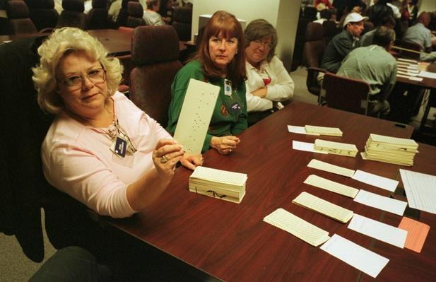 Vote Recount in Florida's Broward County | U.S. Presidential Elections: 2000