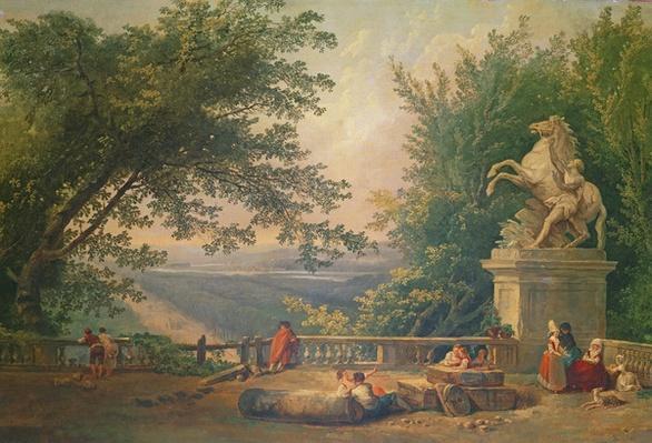 Terrace Ruins in a Park, c.1780