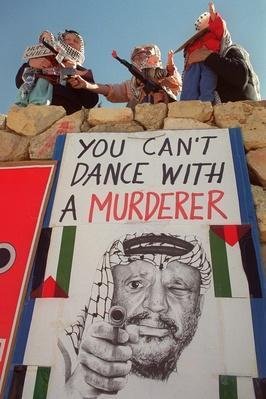 Israeli Extremists Protest Arafat and Barak   Palestine-Israel Conflict