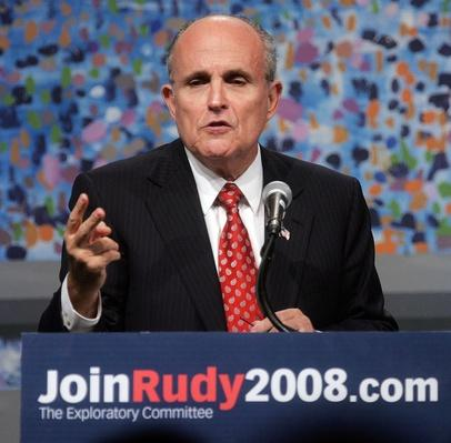 Rudolph Giuliani Hosts A New York City Fundraiser | U.S. Presidential Elections 2008
