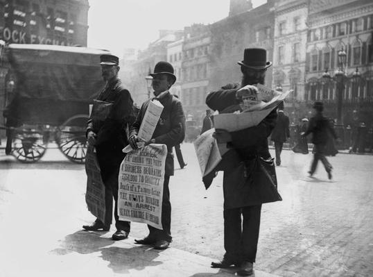Newspaper Vendors | The Gilded Age (1870-1910) | U.S. History