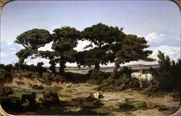 The Oaks of Kertregonnec, c.1869-70