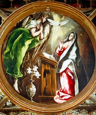 The Annunciation, 1597-1603