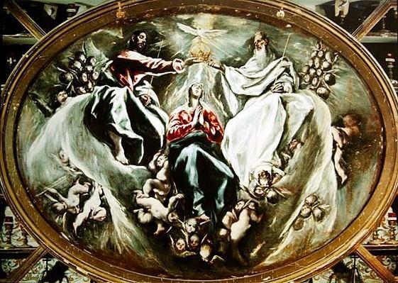 Coronation of the Virgin, 1597-1603