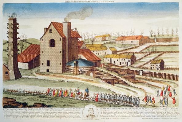 The catastrophe of the Beaujonc coal mine near Li�ge, 1812