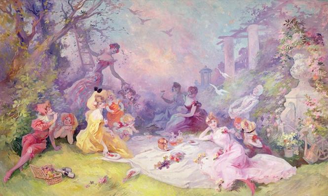 'Le D�jeuner sur l'herbe', 1904