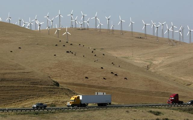 Wind Turbines Help Supply Oakland's Energy Needs | Earth's Resources