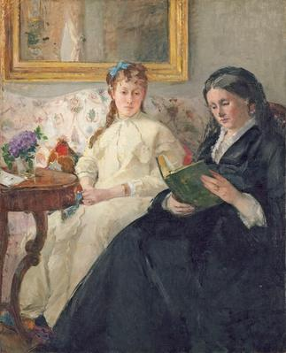 Portrait of the Artist's Mother and Sister, 1869-70