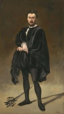 The Tragedian Actor by Manet, Edouard (1832-83)