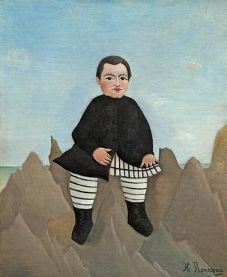 Boy on the Rocks, 1895-97