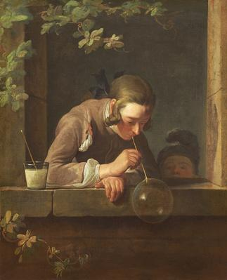 Soap Bubbles, c. 1733- 34