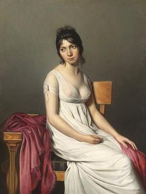Portrait of a Young Woman in White, c. 1798