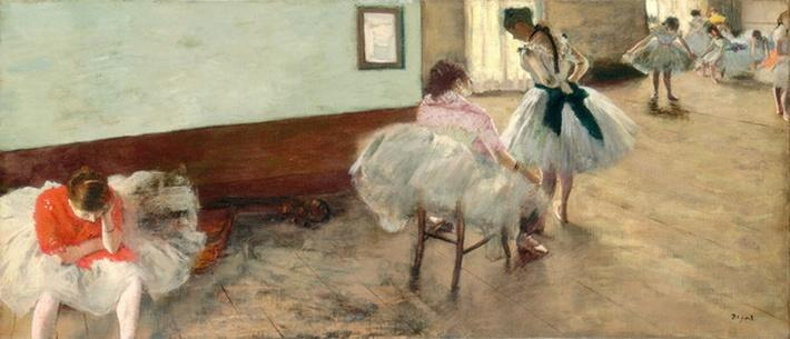 The Dance Lesson, c.1879