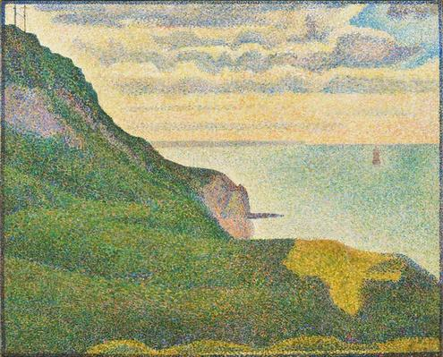 Seascape at Port-en-Bessin, Normandy, 1888