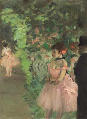 Dancers Backstage, 1876-1883