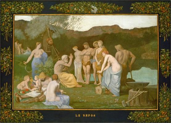 Rest, c.1863