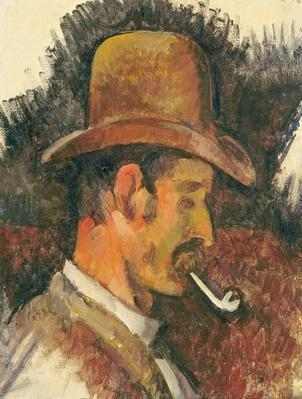 Man with Pipe, 1892-96