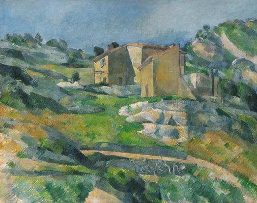 Houses in the Provence: The Riaux Valley near L'Estaque, c.1833