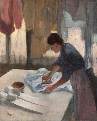 Woman Ironing, c.1876-87